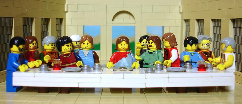 jesus en lego