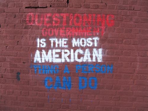 graffiti américain