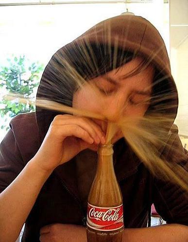 sniffer de la coke