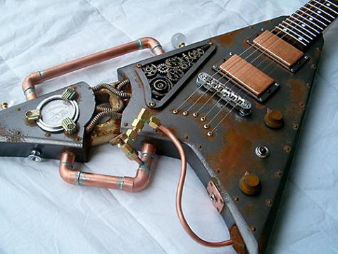 guitare-steampunk